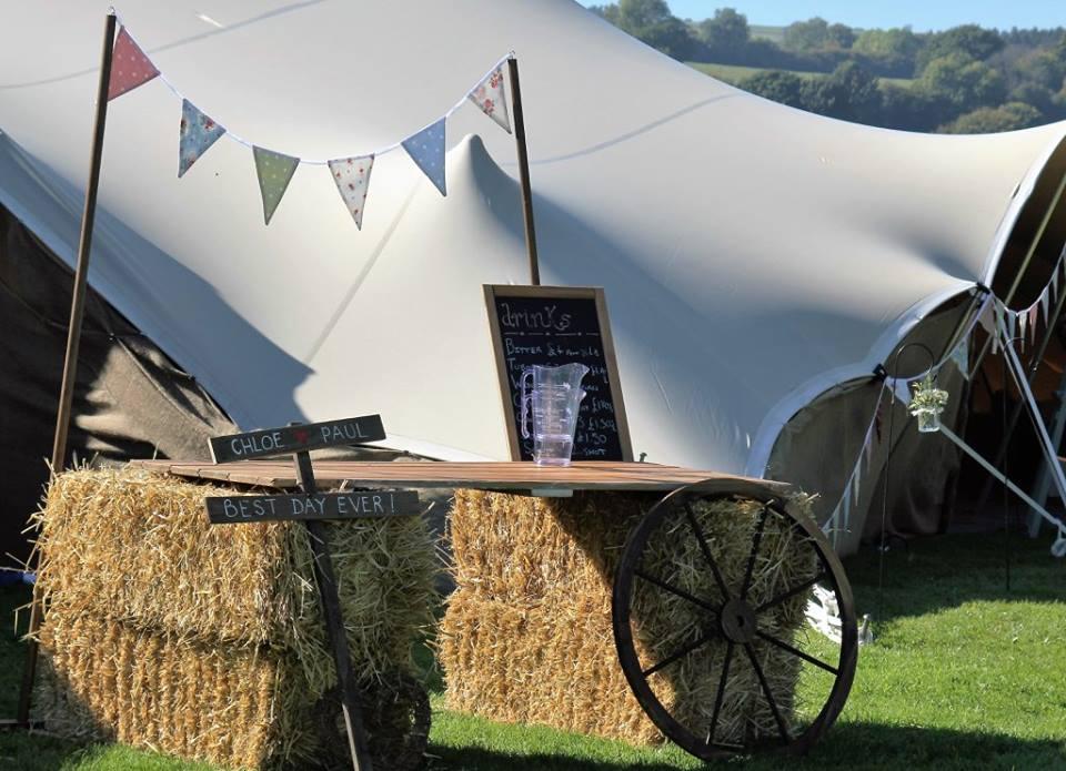 Wedding Bar and Strech Tent