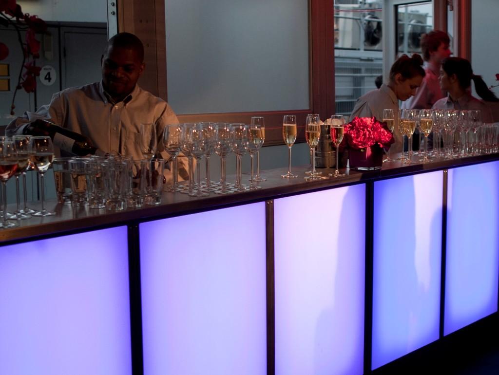 corporate event bar