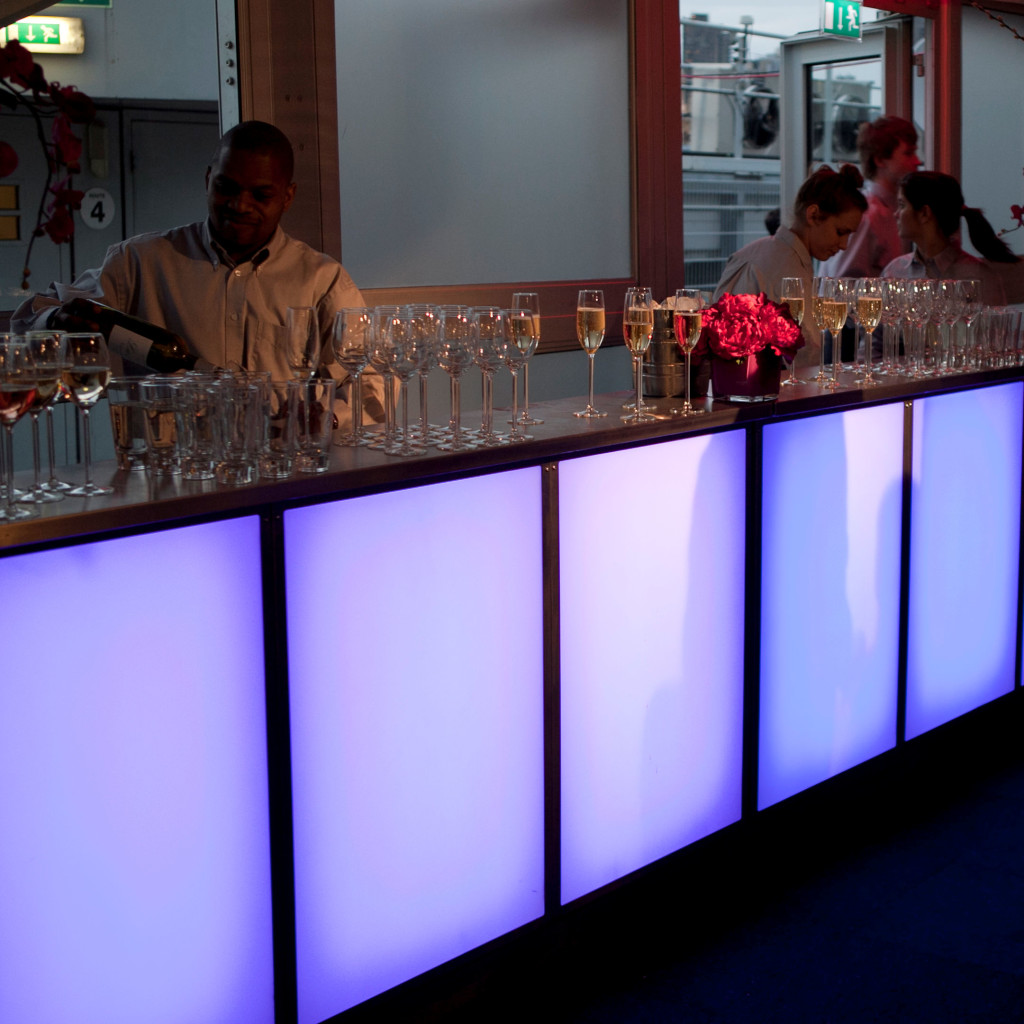 LED corperate event bars