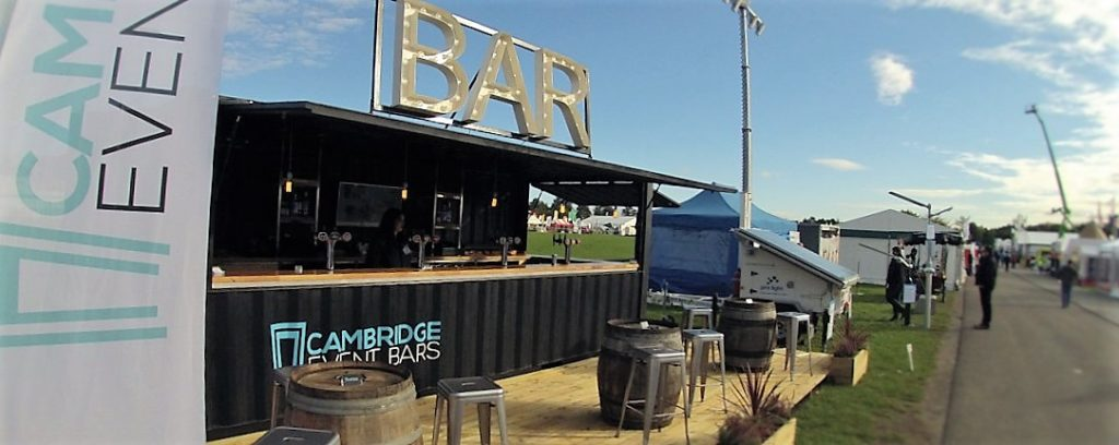 Container bar at showman's Show 2016