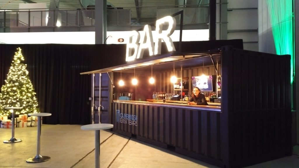 Christmas Party Bar  IWM Duxford